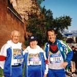 prima Maratona a Roma 2003