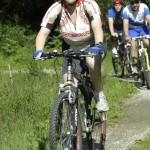 in bici con Associazione Nazionale Italiana Atleti Diabetici
